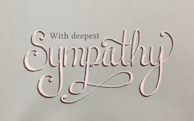 Sympathy – heartfelt and original